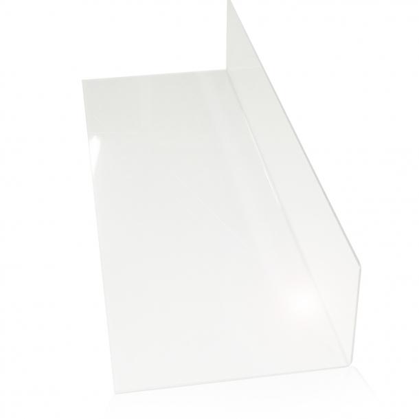 Skillerum til fryser og kølediske - Klar akryl - Small